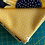 Thumbnail: Sunny Bee by Makower - Fat Quarter Bundle of 4 - Black