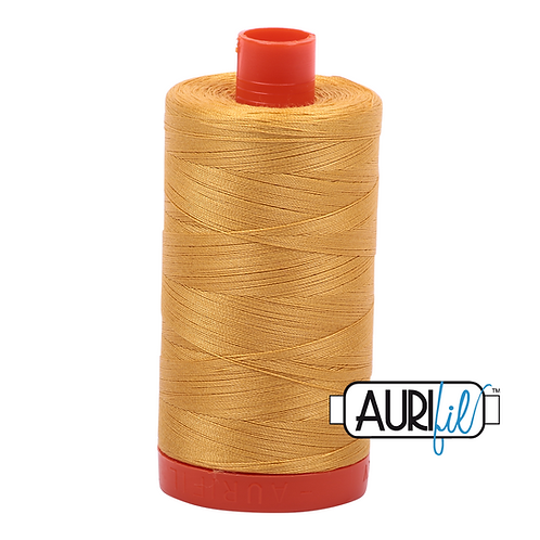 Aurifil 50/2 Gold Thread, 2132