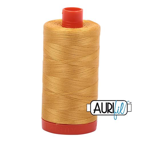 Aurifil 50/2 Gold Thread, 2132