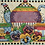 Thumbnail: Counted Cross Stitch Kit - Teatime Pansies