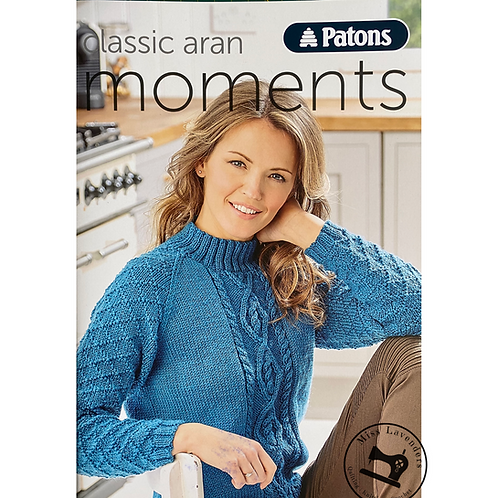 Patons Classic Aran Moments Book 009 - Ladi