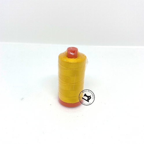 Aurifil 50/2 Quilters Cotton Thread Yellow 2135