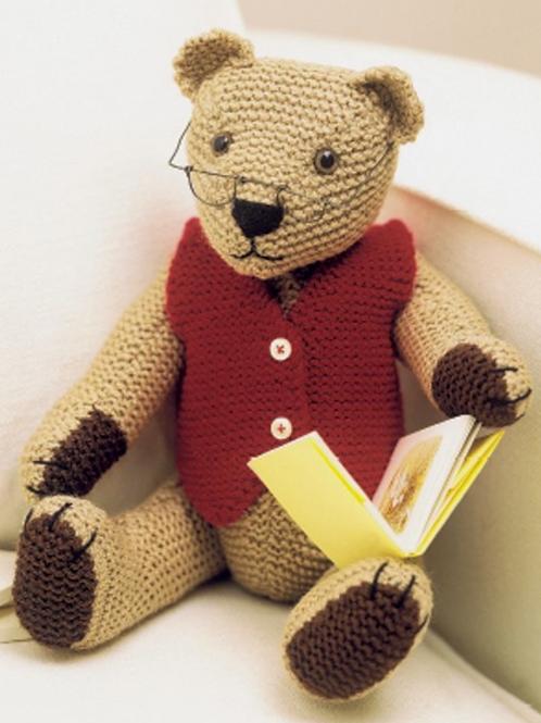 Knits & Pieces Teddy Knitting Pattern 'Robert' - KP-28