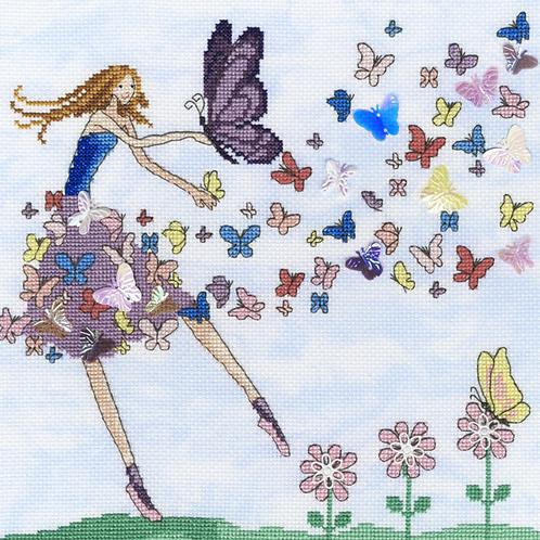 Bothy Threads Butterfly Dance -  Cross Stitch Kit