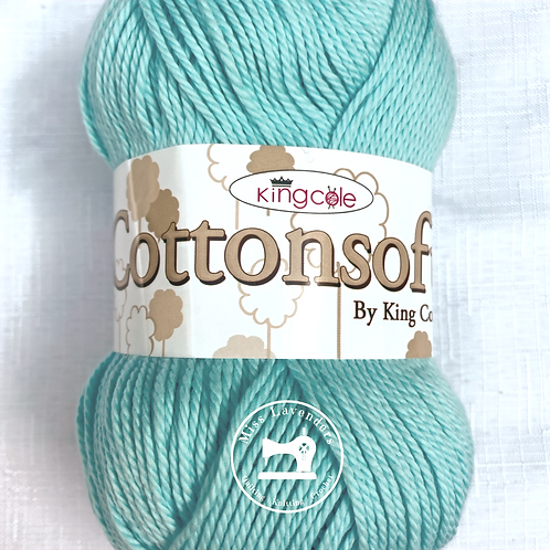 King Cole Cottonsoft 100g - Double Knit DK Mint 6715