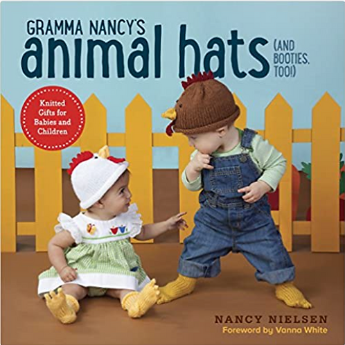 Grandma Nancy's Animal Hats(and booties too!)