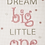 Thumbnail: ANCHOR CROSS STITCH KIT  - Best Friends Collection - Dream Big Girl - AK32