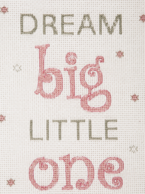 ANCHOR CROSS STITCH KIT  - Best Friends Collection - Dream Big Girl - AK32