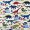 Thumbnail: Dinosaur Land Cotton Fat Quarters 5 Pack