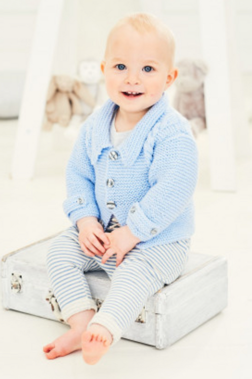Stylecraft Special for Babies - Jacket and Waistcoat  DK - 9680