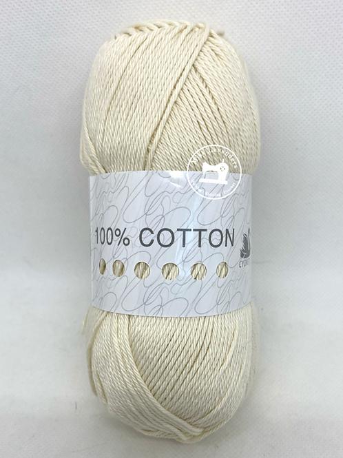 Cygnet 100% Cotton Double Knit  100g - Vanilla Cream 2156