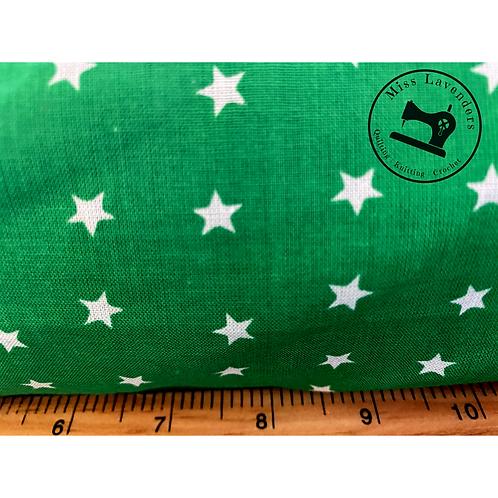 Emerald Green Cotton Fabric