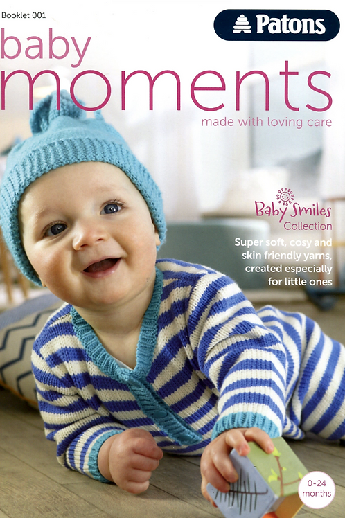 Patons Baby Moments Book 001 - 27 Knitting and Crochet Patterns