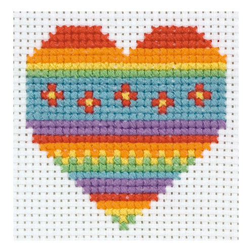 Anchor 1st Kit Cross Stitch - Heart