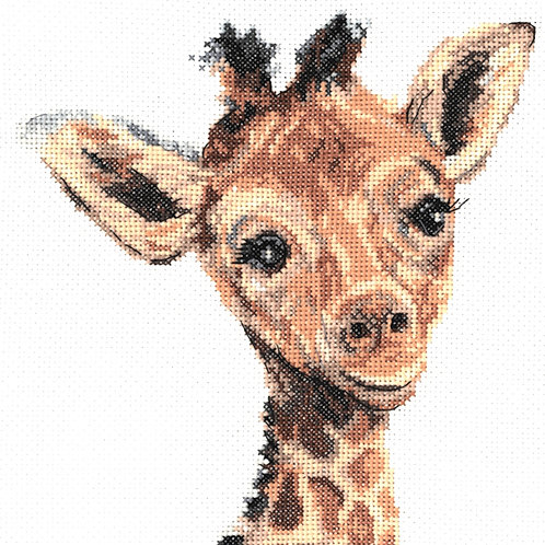 My Cross Stitch - Martha Bowyer - Giraffe (Cross Stitch Kit)