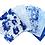 Thumbnail: Chintz Blue Floral - Cotton Fat Quarters - 5 Pack