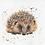 Thumbnail: Bree Merryn Cross Stitch Kit - Harley The Hedgehog