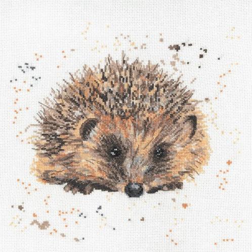 Bree Merryn Cross Stitch Kit - Harley The Hedgehog