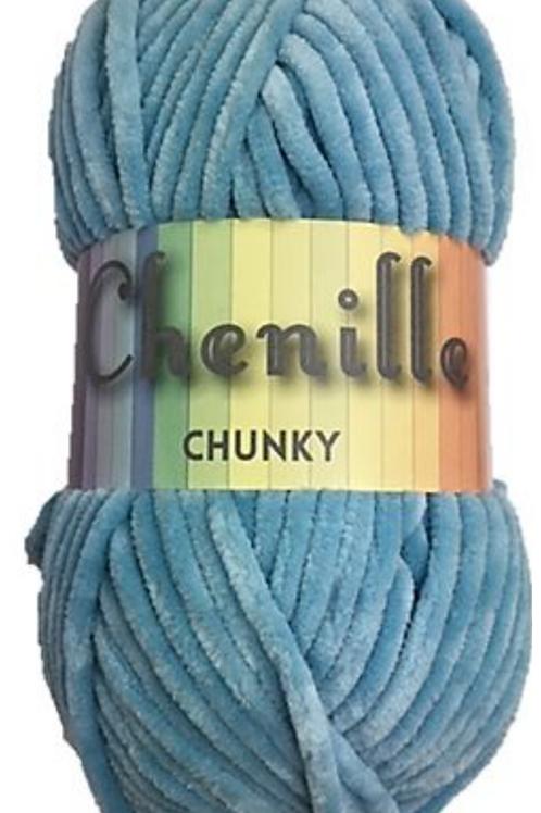 Cygnet Chenille Chunky Sky Blue
