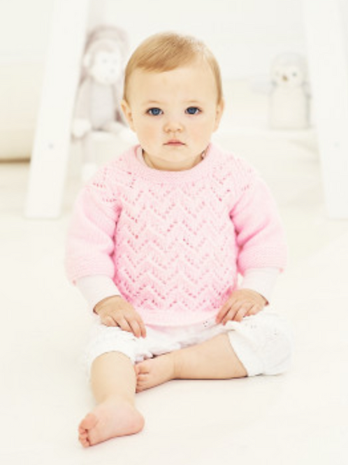 Stylecraft Special for Babies - Sweater and Cardigan  DK - 9678