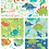 Thumbnail: Dinosaur Adventure Cotton Fat Quarters 5 Pack