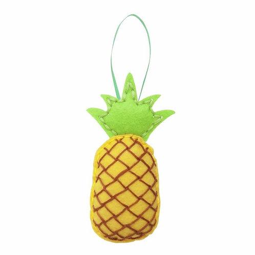 Pineapple Felt Kit Decoration