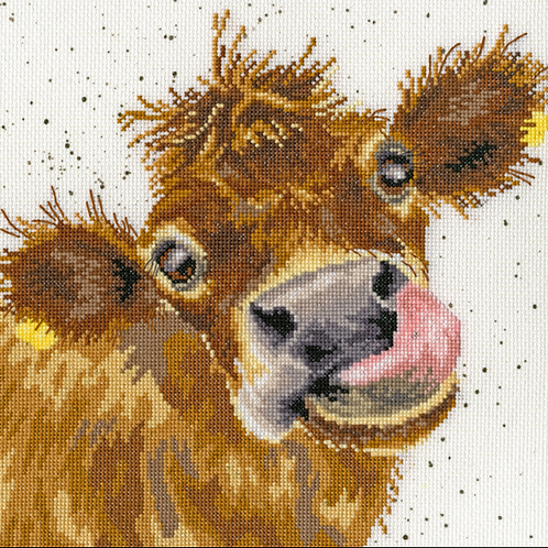 Cross Stitch Kit - Moo