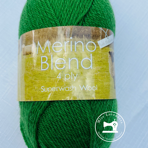 King Cole Merino 4 Ply 50g - Grass 3396
