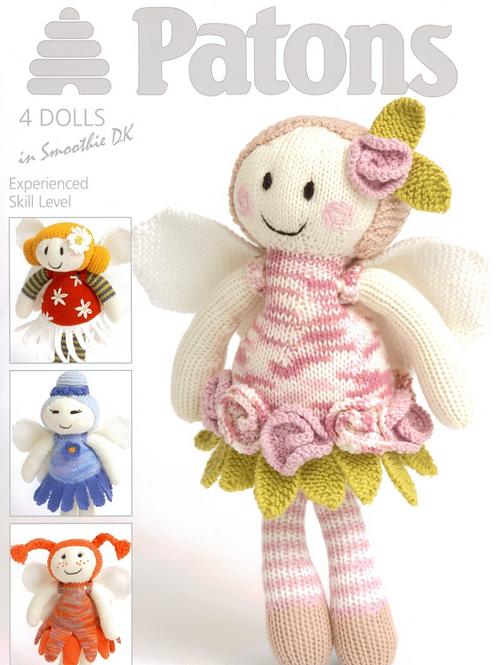Patons 3806 - DK (Book) Fairy Flower Dolls