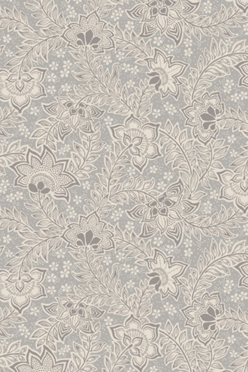 Liberty Winterbourne House - Louisa May Fabric - Grey (04775736/B)