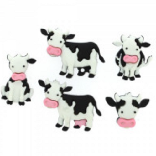 Dress it up Buttons - Mooove it! 8977 Childrens/Craft