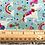 Thumbnail: Makower Daydream Unicorns Turquoise 2275/T