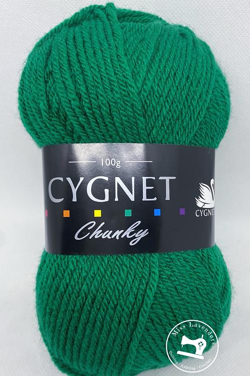 Cygnet Chunky - Emerald 377