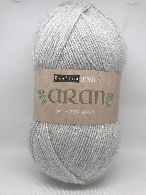 Sirdar Hayfield Bonus Aran 400g -  Croft Grey 813