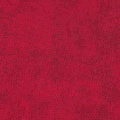 Makower Dimples - R1 Crimson Red