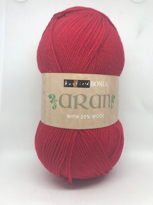 Sirdar Hayfield Bonus Aran 400g - Cherry Red 950