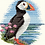 Thumbnail: Cross Stitch Kit - Puffin