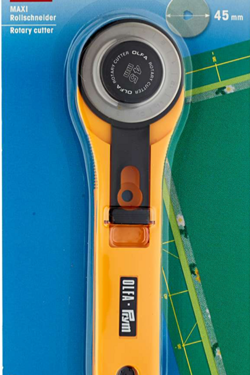 Prym 45mm Rotary Cutter 611370 - Ideal for Quilting