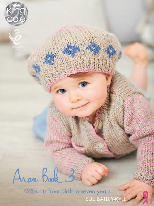 King Cole Baby Book 4 - 28 Knitting Patterns