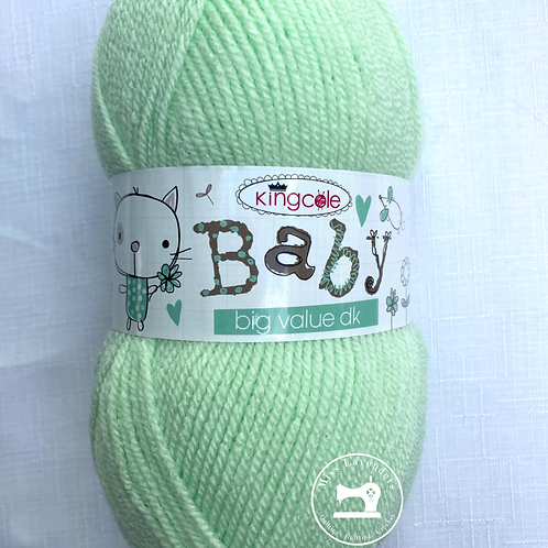 King Cole Big Value Baby Double Knit DK - 100g  - Apple Green 2292