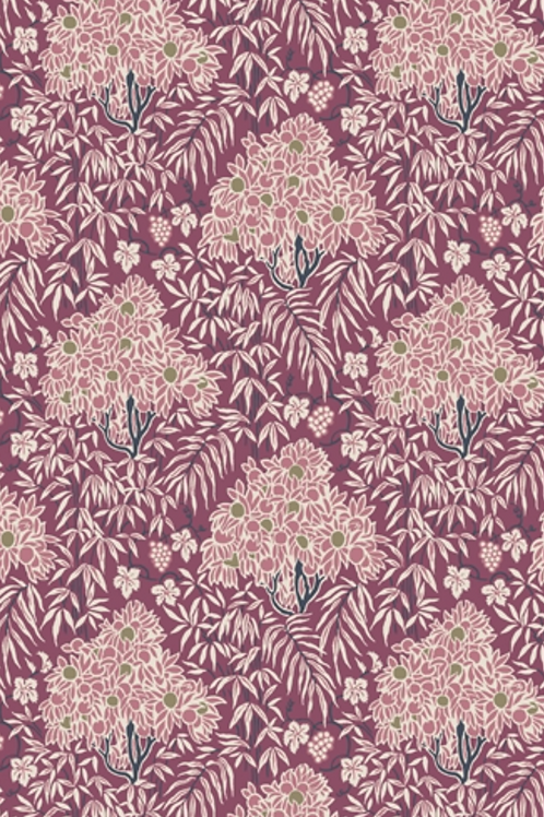 Liberty Winterbourne House - Woodhaze Fabric - Pink 04775740/A