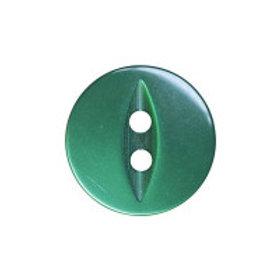 Bottle Green Fisheye 16mm Button