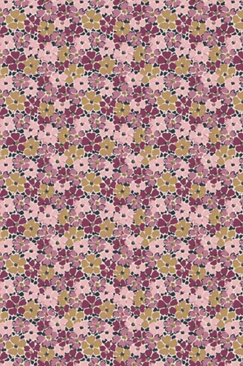 Liberty Winterbourne House - Primula Posy Fabric - Pink 04775735/A