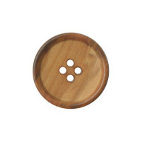 Buttons wooden round 4 hole 20mm