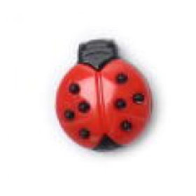 Large Ladybird Button 18mm