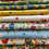 Thumbnail: Makower Spring Meadow - Yellow Fabric