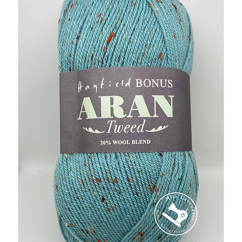 Sirdar Hayfield Bonus Tweed Aran 400g - Seaspray 665