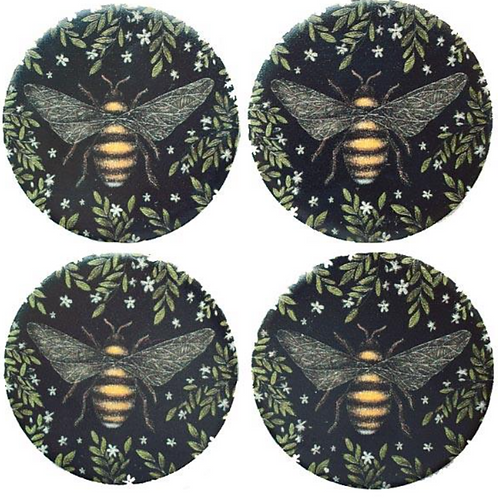 Habico Pattern Weights - Set of 4 - Bee Design