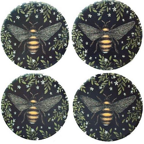 Habico Pattern Weights - Set of 4 - Bee Design