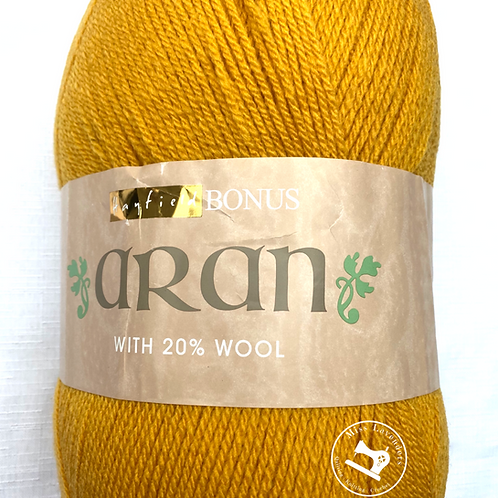 Sirdar Hayfield Bonus Aran with Wool 400g - Mustard 768